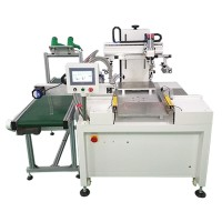 標牌絲印機銘牌銘板網印機有機玻璃亞克力板印刷機