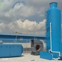 東莞噴漆廢氣處理凈化設備工藝 水噴淋+吸附法
