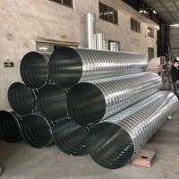 廠家直銷鍍鋅排塵管 直徑500mm螺旋風管價格便宜
