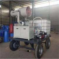 青海玉树供应电动三轮雾炮洒水一体机
