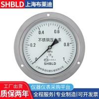 布莱迪YTH-60.M140全不锈钢压力表Y50Y-100B