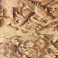 济南厂家供应 腾达 棺材板雕刻机
