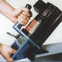 钢板斜边机适于焊接的HECK8000型钢板坡口机