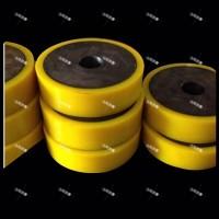 矿山设备聚氨酯单轨吊车轮包胶轮专业制造商
