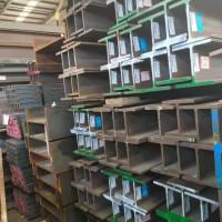 近期进口莱钢英标h型钢图片合集