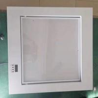 内嵌式电动翻转LED会议室平板灯遥控柔光灯