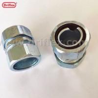 河北钢管软管连接器自固式双接头材质锌合金